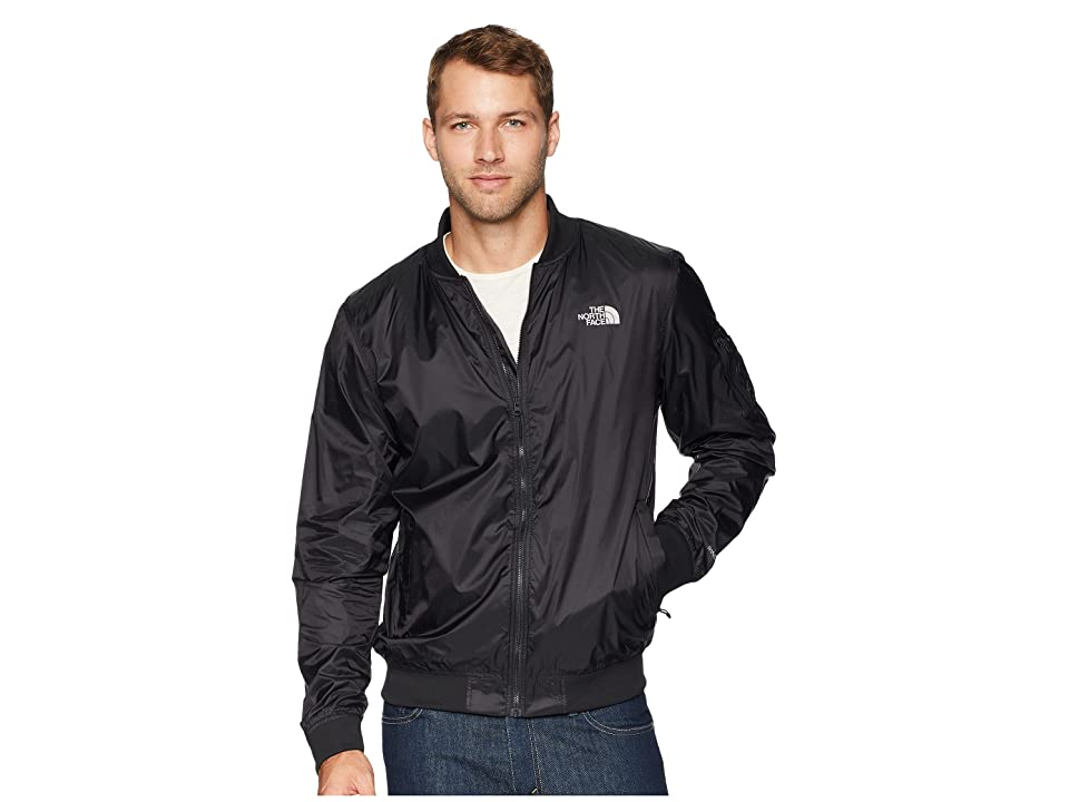 The North Face Meaford Bomber II (Shiny TNF Black) Men