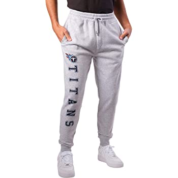 Team Color Ultra Game NFL Tennessee Titans Mens Jogger Pants Active Basic Fleece Sweatpants X-Large
