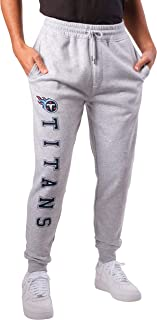 Ultra Game NFL Tennessee Titans Mens Active Jogger Sweatpants, Heather Gray 19, Medium