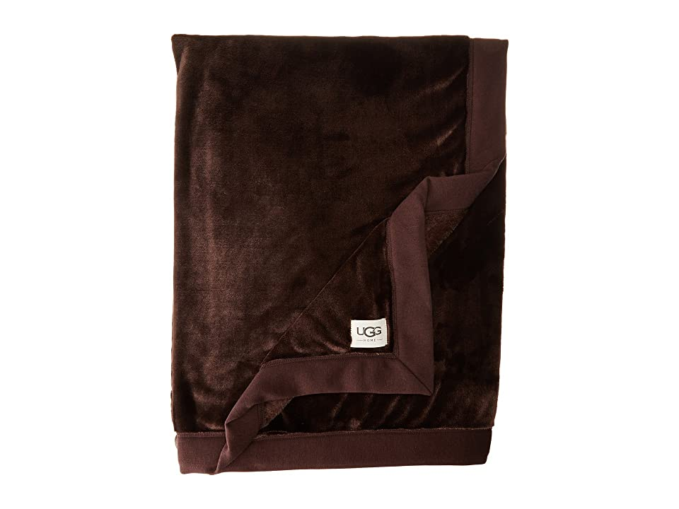 UGG Duffield Throw (Stout) Sheets Bedding, Brown