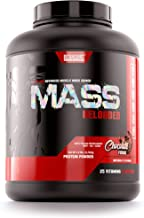 Betancourt Nutrition Mass Reloaded Advanced Muscle Mass Gainer, Chocolate Fudge, Post-Workout Recovery, Powder, 8 Servings (5.9 lbs)