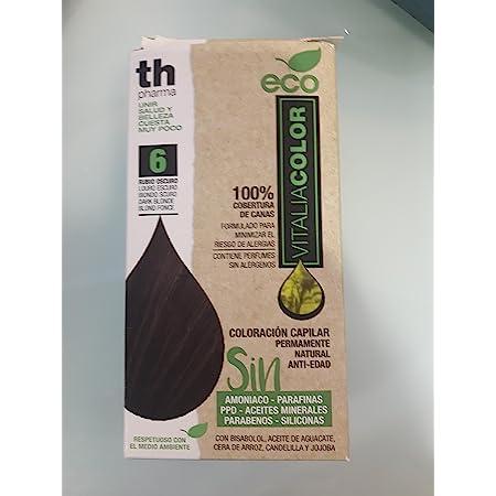 Th Pharma Th Eco Vitalia Color Tinte Nº 6 Rubio Oscuro 250 g