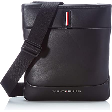 Tommy Hilfiger TH Metro, Bolso para Hombre, Black, One Size