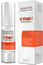 Whitening 3E Vitamin C Creamy Super Serum Anti Aging Intensive Treatment 1 fl oz/ 30 ml With Cutting Edge G3L Delivery System Brightens Skin, Evens Skin Tone, Great for Spots and Scars
