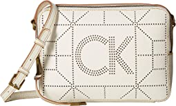 Shelby Goat Leather Perf Crossbody