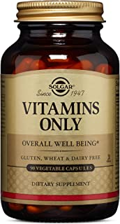 Solgar – Vitamins Only, 90 Vegetable Capsules