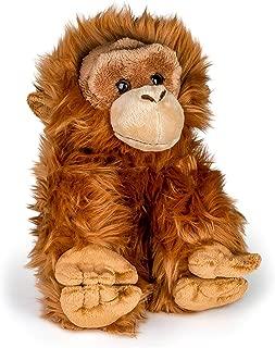 Wildlife Tree 12 Inch Stuffed Orangutan Plush Floppy Animal Kingdom Collection