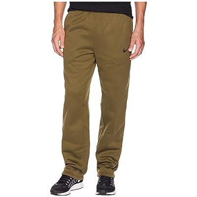 Nike Dri-FIT Therma Pants (Olive Canvas/Black) Men