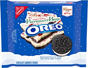 Oreo Seasonal Peppermint Bark Chocolate Sandwich Cookies, 10.7 oz.
