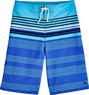 Coolibar UPF 50+ Boy's Superbank Board Shorts - Sun Protective