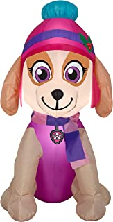 Gemmy 3.5' Airblown Skye in Winter Outfit Christmas Inflatable