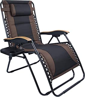 2 pack zero gravity lounge patio chairs