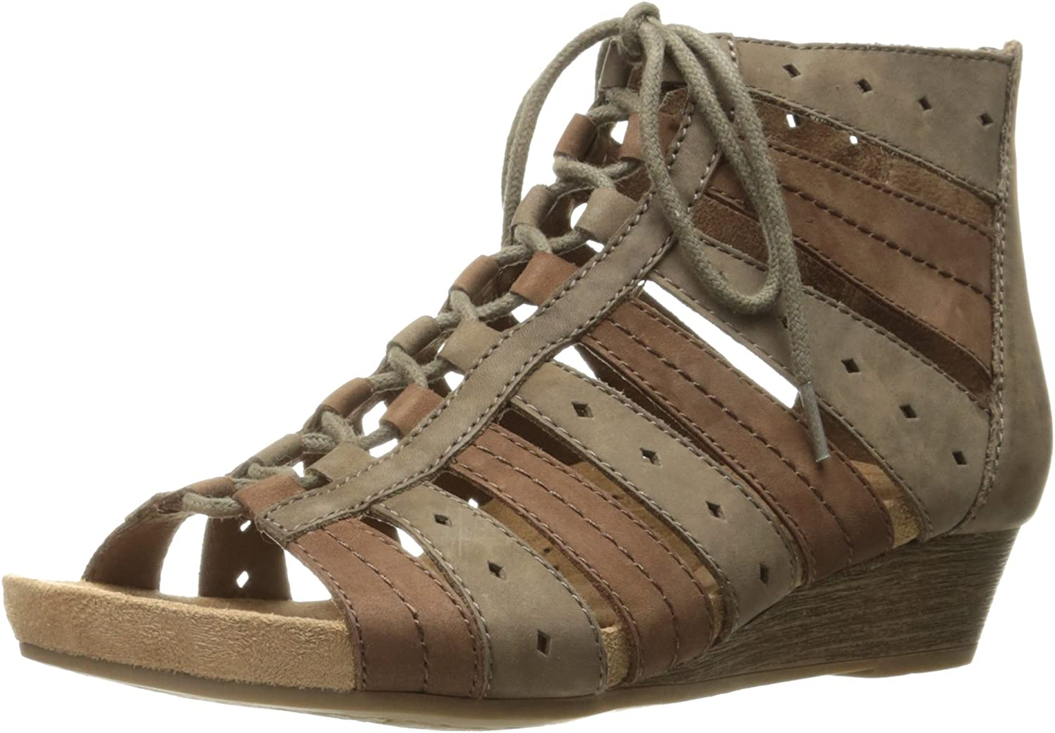 Cobb Hill Womens Sable Ghillie Gladiator Sandal