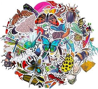 HOWAF 100pcs Insecte Animal Marin Vinyle Graffiti Autocollant Stickers pour Ordinateur Portable Bagage Planche à Roulette ...