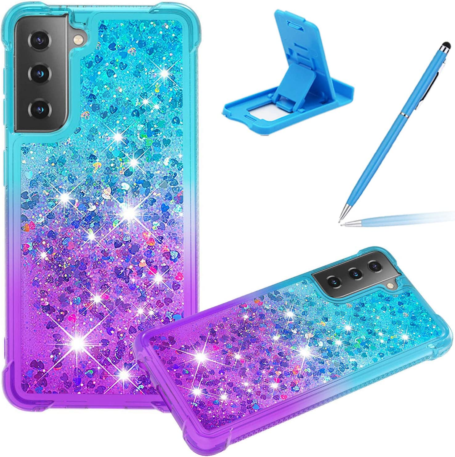 Liquid Clear Case for Samsung Galaxy S21 Women G Award-winning store Girls Today's only Cover