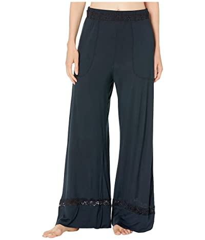 Free People Maddie Sleep Pants (Black) Women