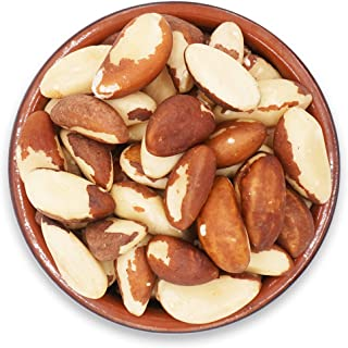 Secret Garden`s Raw Fresh Brazil Nuts, Whole and Unsalted Nuts, No Shell in Reseable Bag(5LB