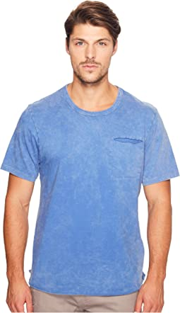 Brushed Supima Cotton w/ Sundried Wash Washed Out Tee
