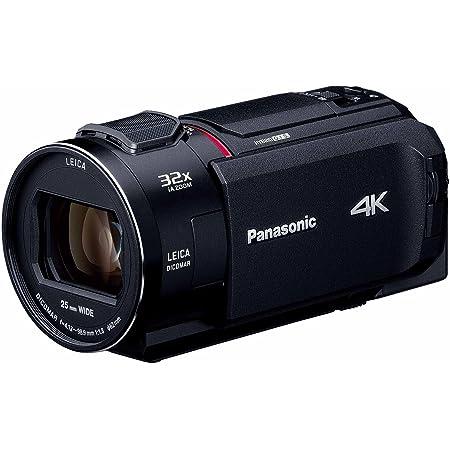 パナソニック 4K ビデオカメラ WX1M 64GB ワイプ撮り あとから補正 ブラック HC-WX1M-K