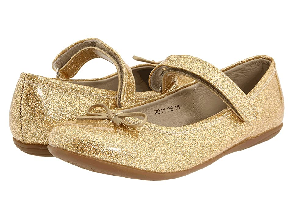 Kid Express Josie (Toddler/Little Kid/Big Kid) (Gold Glitter Patent) Girl
