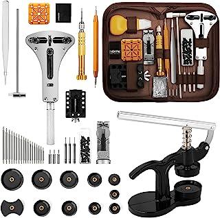 Eventronic Tool Kit Professionale di Riparazione Orologi,Set Pressa Orologio Professionale,Riparazione Orologio e portable...