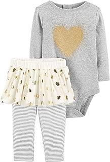 Baby Girls' Bodysuit Pant Sets