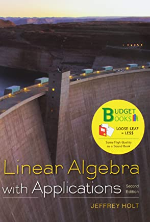 Linear Algebra With Applications + Webassign Homework and E-book, Six-months Access