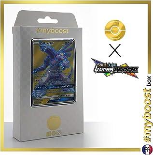 Palkia-GX 147/156 Full Art - #myboost X Soleil & Lune 5 Ultra-Prisme - Box of 10 Pokemon French Cards