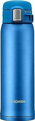 象印(ZOJIRUSHI) 水筒 直飲み 【ワンタッチオープン】 ステンレスマグ 480ml マットブルー SM-SD48-AM