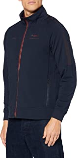 Hackett London Men's Amr Track Top Fz Pullover Sweater