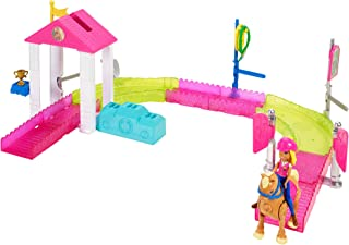Mattel Barbie On the Go Pony Race Motorized Track Set - Multi Color
