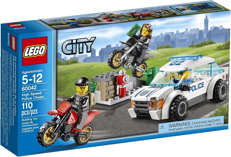 calidad auténtica LEGO City High Speed Police Chase [60042 - 110 110 110 pcs]  el estilo clásico