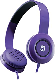 iHome Stereo Headphones with Flat Cable - Purple (IB35UBC)