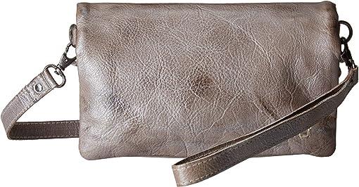 Grey Silver Rustic Mettalic
