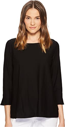 Eileen Fisher - Ballet Neck Box-Top