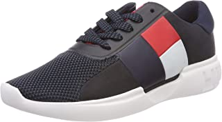 Tommy Hilfiger Women's Lightweight Color-Blocked Flag Trainers
