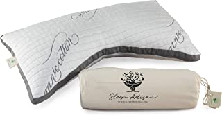Sleep Artisan Luxury Side Sleeper Pillow with Curved Design Helps You Sleep Better Than Ever and Reduces Neck Pain - Latex Pillows for Sleeping (1 Side Sleeper Pillow)
