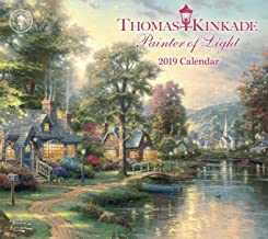 Thomas Kinkade Painter of Light 2019 Deluxe Wall Calendar