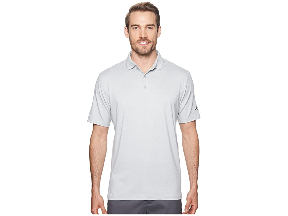 Callaway Extra Soft Heather Polo (High-Rise Heather) Men