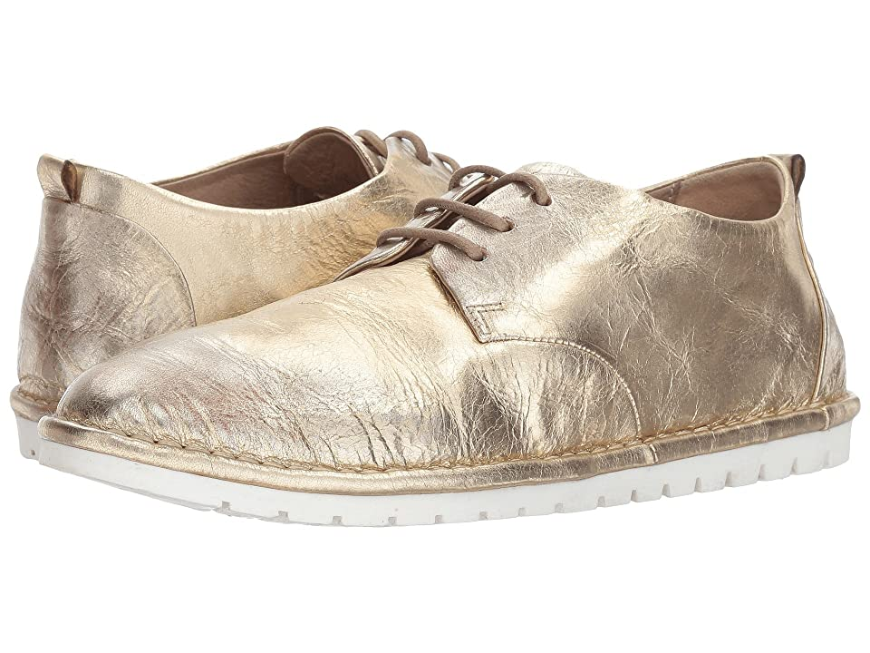 Marsell Gomme Plain Toe Lace-Up (Platinum) Women