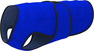Dog Cooling Vest. Lightweight Jacket with Evaporative Cool Microfiber Technology, UV Protection Shirt, Sizing for Small, Medium and Large Dogs