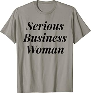 Best serious business woman tee Reviews