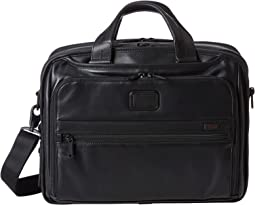 Tumi - Alpha 2 - Organizer Leather Brief