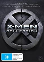 X-MEN 6 MOVIE COLLECTION (6 DISC)