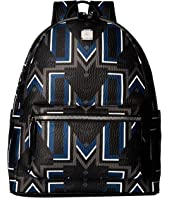 MCM - Stark Gunta Medium Visetos Backpack