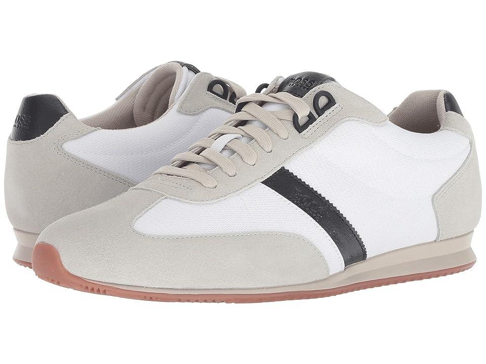BOSS Hugo Boss Orlando Low Profile Sneaker by BOSS Green (Open White) Men