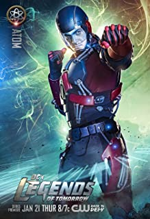Movie Poster DC's Legends of Tomorrow (2012) - Atom - 13 in x 19 in Flyer Borderless + Free 1 Tile Magnet
