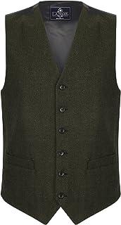Lloyd Attree & Smith Herringbone Tweed Waistcoat