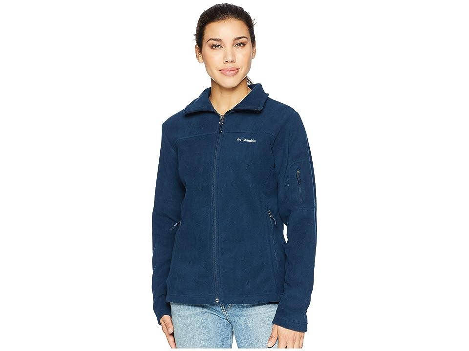 Columbia Fast Trektm II Full-Zip Fleece Jacket (Columbia Navy) Women