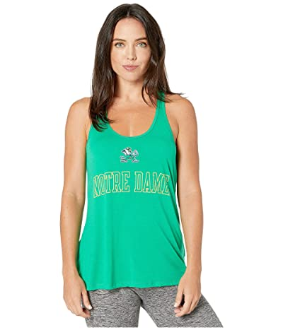 Champion College Notre Dame Fighting Irish Eco(r) Swing Tank Top (Kelly Green 2) Women